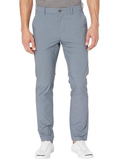 Облегающие брюки чинос с эластичной текстурой и принтом Perry Ellis