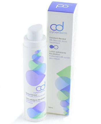 Cyberderm Exfoliant Reveal - AHA Exfoliant для лица, 1,7 унции The Sunscreen Company