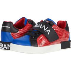 Snk Bassa Allacciata Rete + ПВХ + (Малыш / Малыш) Dolce & Gabbana Kids