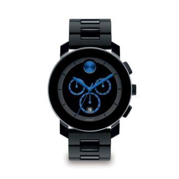 Часы BOLD с хронографом из нержавеющей стали с браслетом Movado