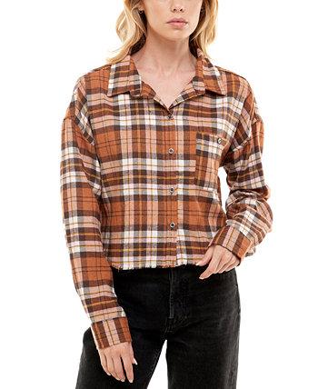 Рубашка в клетку с потертостями для юниоров Ultra Flirt