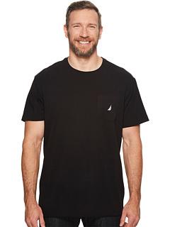 Большая и высокая якорная футболка с короткими рукавами Nautica Big & Tall