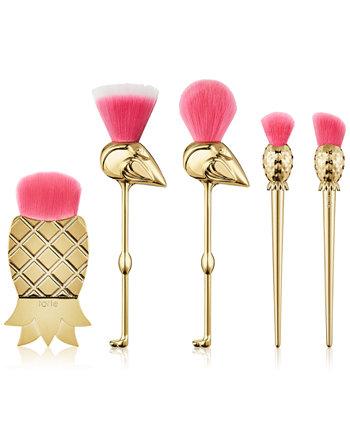 5-Pc. Let's Flamingle Brush Set Tarte