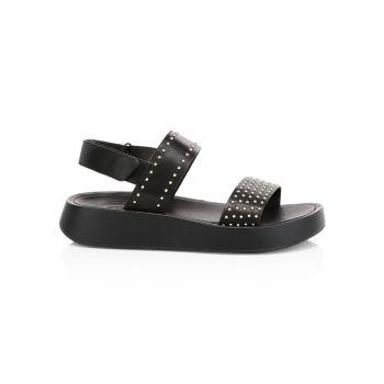 Кожаные спортивные сандалии Vivi с заклепками ASH