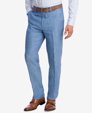 Мужские облегающие брюки из шамбре, созданные для Macy's Bar III