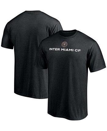 Мужская черная дебютная футболка Inter Miami CF Dynamite Fanatics