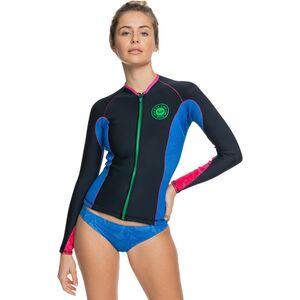 Roxy 1.0 Pop Surf Front-Zip Long-Sleeve Q-L Jacket Roxy