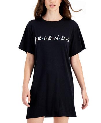 Платье-туника с короткими рукавами Juniors 'Friends Love Tribe