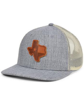 Кепка для грузовика с кожаной нашивкой Local Crowns Texas Heather State Patch Lids