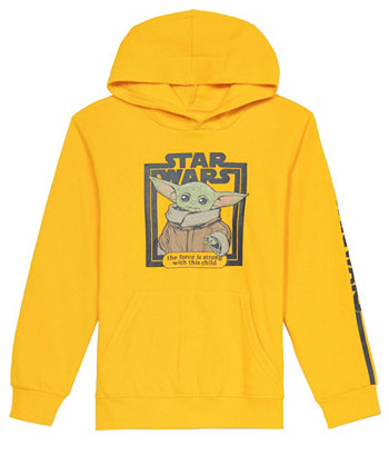 Big Boys Strong with This One Fleece Hoodie Hybrid