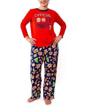 Пижамный набор для женской команды по выпечке, только онлайн Secret Santa