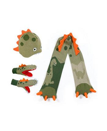 Большой трикотажный комплект для динозавров Kidorable