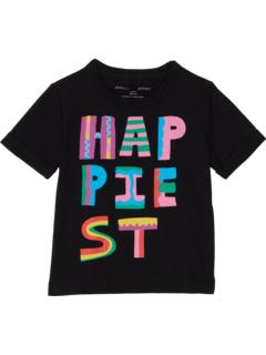 Футболка Happiest с короткими рукавами (для малышей / маленьких детей / детей старшего возраста) Stella McCartney Kids