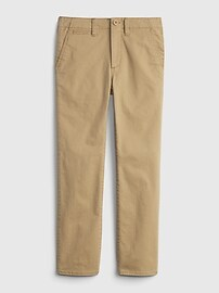 Kids Uniform Lived -In Khakis with Washwell  Gap