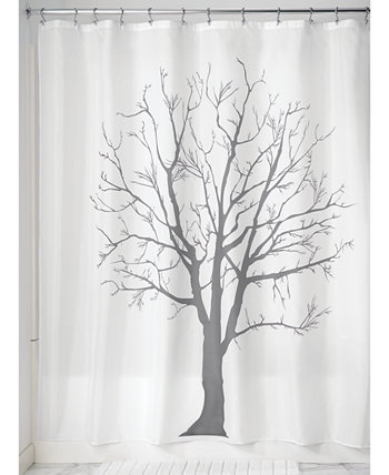 Занавеска для душа 72 x 72 дюйма с ботаническим деревом Interdesign