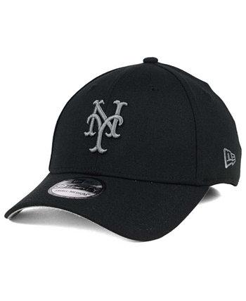 New York Mets Классическая черная и угольная 39-тая кепка New Era