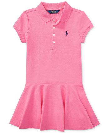 Маленькие девочки поло платье Ralph Lauren