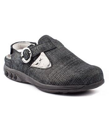 Shoe Chloe Регулируемый кожаный сабо Therafit