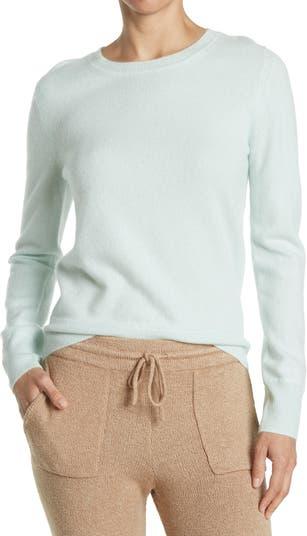 Кашемировый пуловер с круглым вырезом NAADAM
