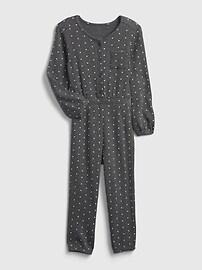 Toddler Waffle-Knit Pocket Jumpsuit Gap