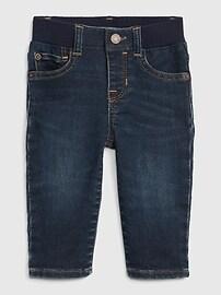 Прямые джинсы Baby Knit-Denim Gap