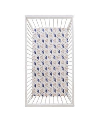 """Простыня для детской кроватки с медведем рябины, 52 """"x28"""" Levtex"""