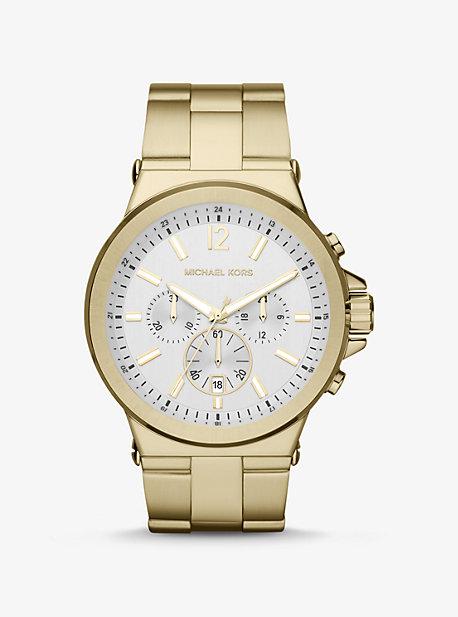Большие часы Dylan Gold-Tone Michael Kors