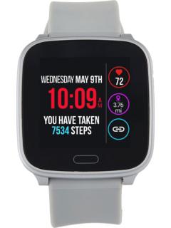 Iconnect by Timex Активный серебристый корпус Цифровой циферблат Серебряный ремешок из синтетической смолы Timex