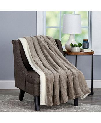 Мягкое пушистое одеяло большого размера в винтажном стиле BALDWIN