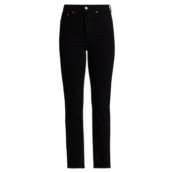 Узкие прямые джинсы 80-х годов Re/Done