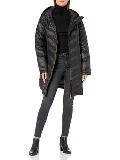 Пуховик с капюшоном Chevron Packable Down Jacket (Standard и Plus) Calvin Klein