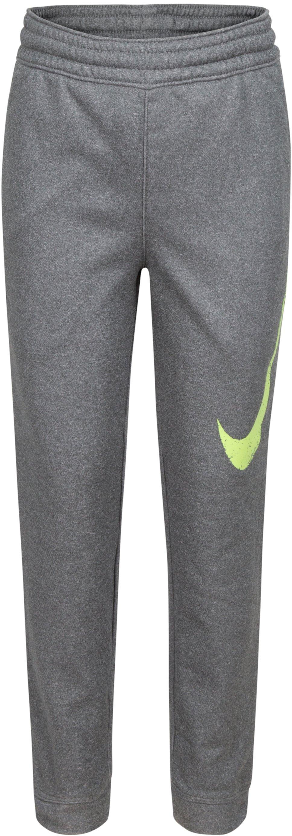 Флисовые спортивные штаны Therma (для маленьких детей) Nike Kids