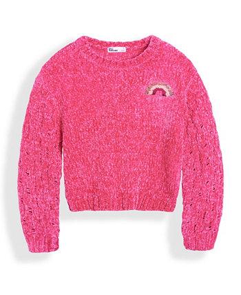 Little Girls Flip Sequin Icon Sweater Epic Threads