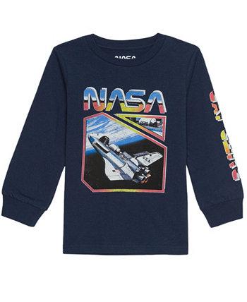 Toddler Boys NASA T-shirt Hybrid