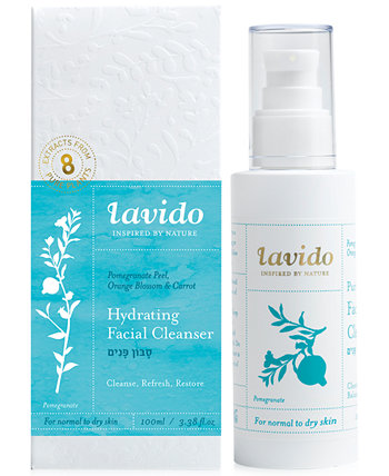 Увлажняющее очищающее средство для лица Lavido