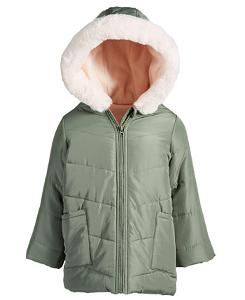 Toddler Girls Faux-Fur-Trim Hooded Parka, Created for Macy's First Impressions