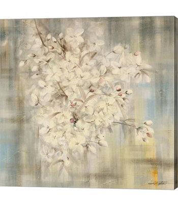 Белый вишневый цвет I от Ли Бо Canvas Art Metaverse