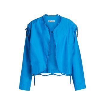 Куртка-трансформер с тиснением на веревках для временного помещения Issey Miyake