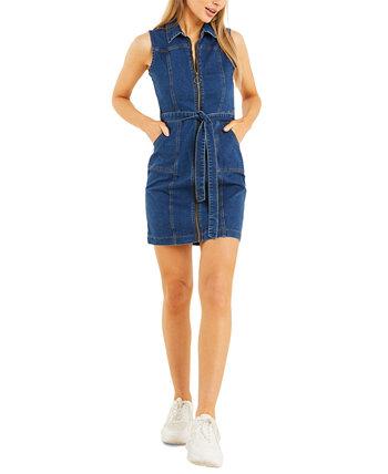 Джинсовое платье-футляр Quiz