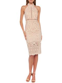 Кружевное платье Hana Bardot