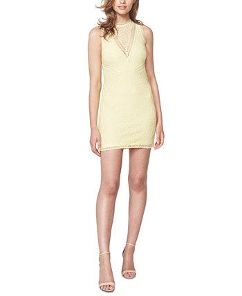 Кружевное платье-футляр Aubrey Bardot