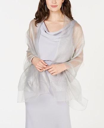 Металлический шарф с запахом Adrianna Papell