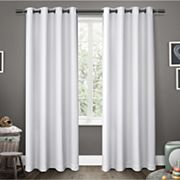 Exclusive Home 2-pack Sateen Twill Woven Blackout Window Curtains Exclusive Home
