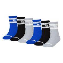 Набор из 6 мягких носков с мягкой подкладкой для мальчиков Nike Nike