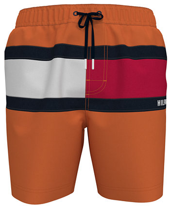 """Мужские плавки с флагом Tommy Flag 6,5 """", созданные для Macy's Tommy Hilfiger"""