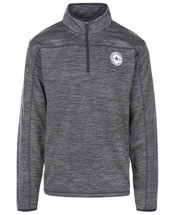 Мужской пуловер с молнией до четверти Dallas Cowboys Odin Authentic NFL Apparel