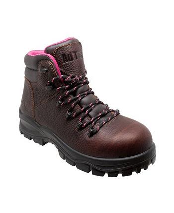 Женские водонепроницаемые рабочие ботинки с мягким носком 6 дюймов AdTec
