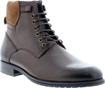 Кожаные ботинки Kenz на шнуровке Zanzara