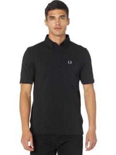 Рубашка-поло с воротником на пуговицах Fred Perry