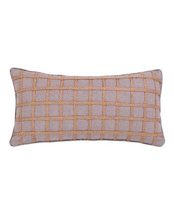 Серая веревочная подушка Solano для дома Levtex